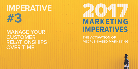 2017 Marketing Imperatives Webinar Series: Imperative #3 - Manage Your Customer Relationships Over Time