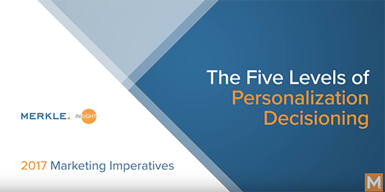 Our data-driven orchestration maturity model details the five levels of personalization