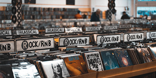 Image of records - HMV case study