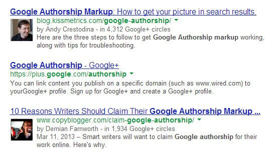 The Bear Paw is reminiscent of Google's authorship markup