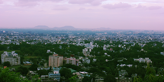 The skyline of Pune, India