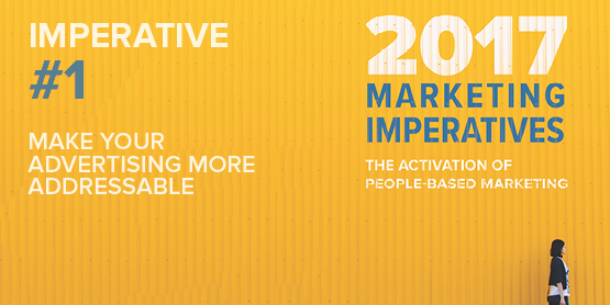 2017 Marketing Imperatives Webinar Series: Imperative #1 - Make Your Advertising More Addressable