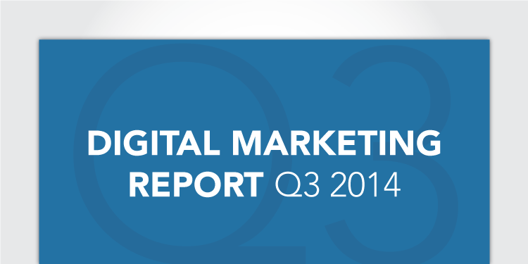 RKG Digital Marketing Report, Q3 2014