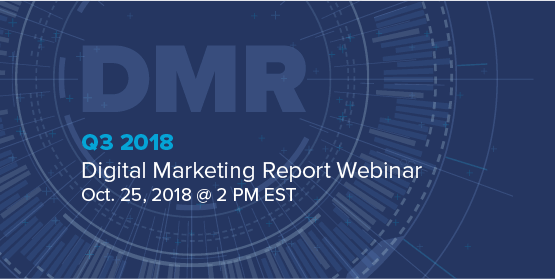 Merkle's Q3 2018 Digital Marketing Report Webinar