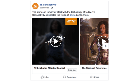 TE Connectivity Transforms its B2B Marketing with Influential Film image 1