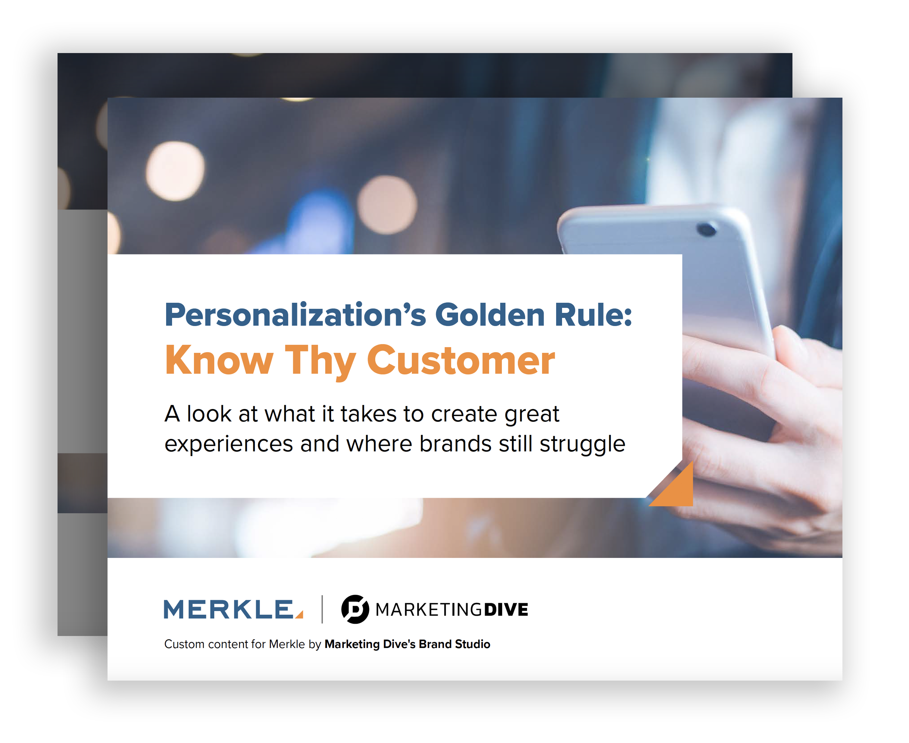 Personalization's Golden Rule: Know Thy Customer
