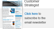 Subscribe to the Customer Strategist newsletter