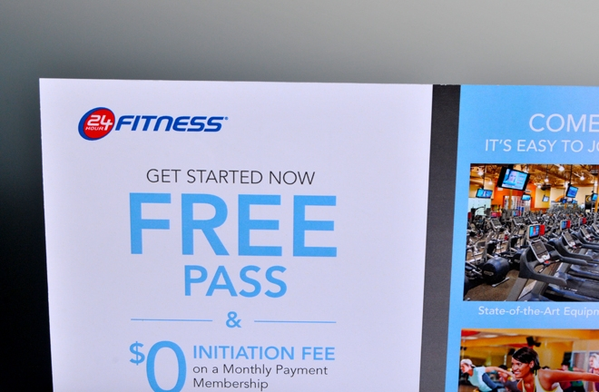 24 Hour Fitness usually offers their best gym membership deals of the year during January. Special offers on gym memberships are available through the company's website every day. However, deals change every 24 to 48 hours.