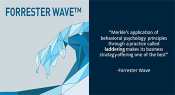 Forrester Wave praised Merkle's application of behavioral psychology in a recent report