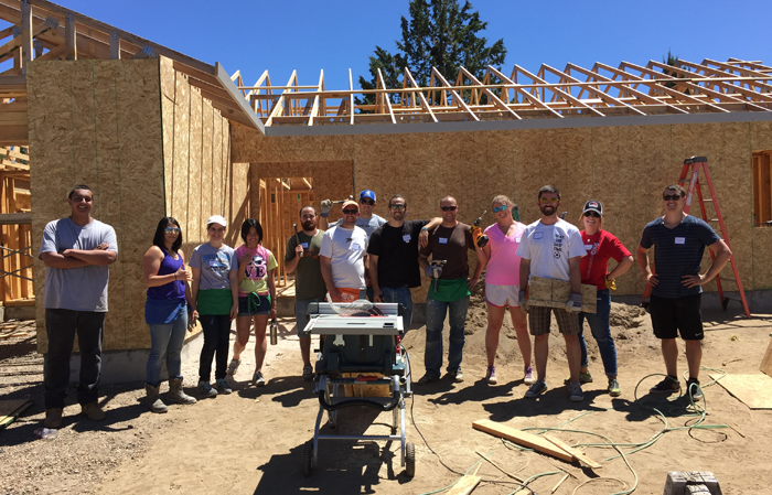 Merkle's interns get an opportunity to give back, volunteering as part of their experience