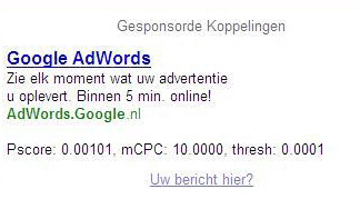 adwords-pscore
