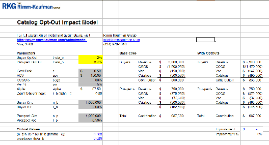 catalog planning spreadsheet