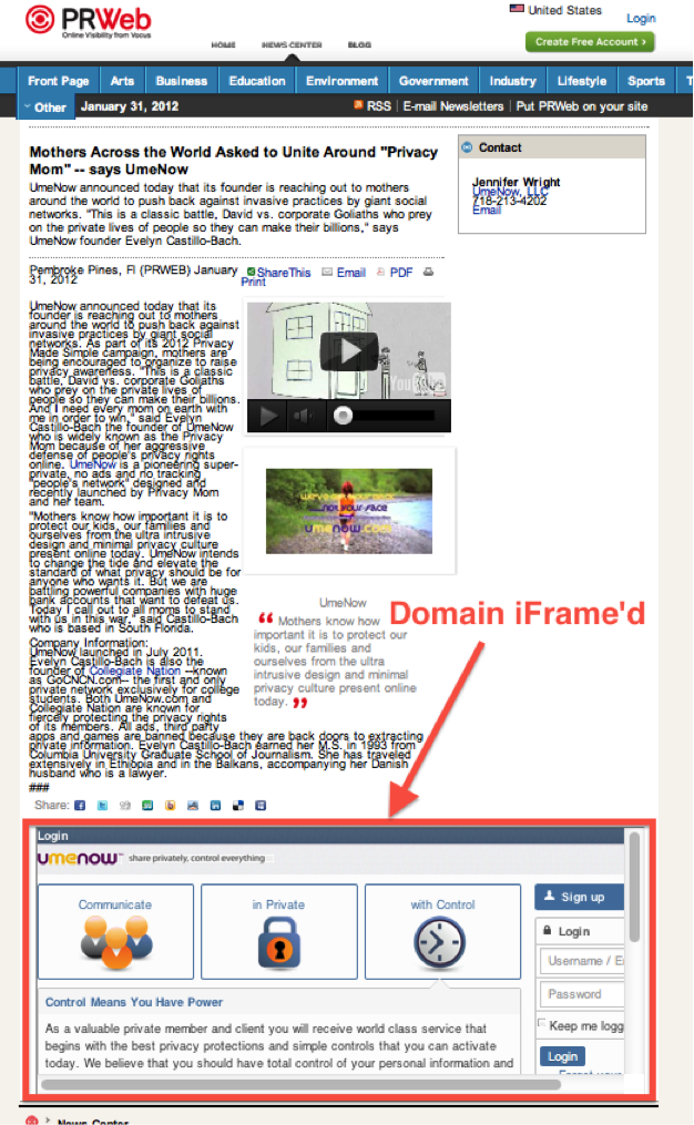 iframe Test: Do Search Engines Follow Links in iframes